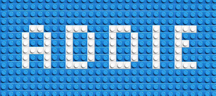 Lego representation of ADDIE Model