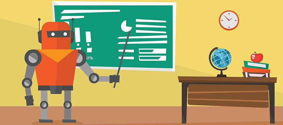 Robot teaching
